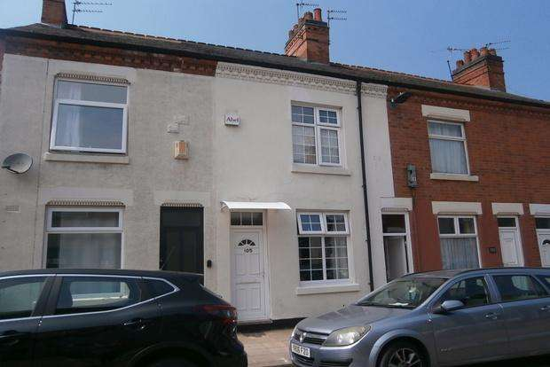 2 Bedrooms Terraced House for sale in Bolton Road, Western Park, Leicester, LE3