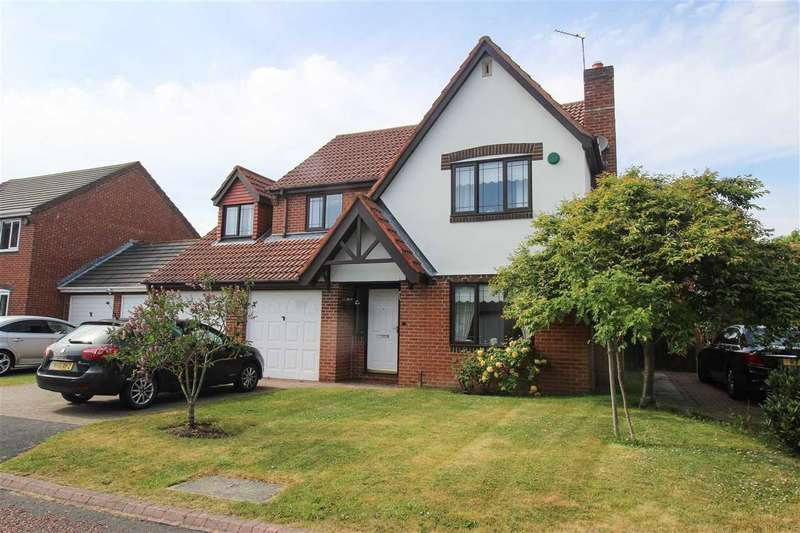 5 Bedrooms Detached House for sale in Epwell Grove, Hartford Green, Cramlington