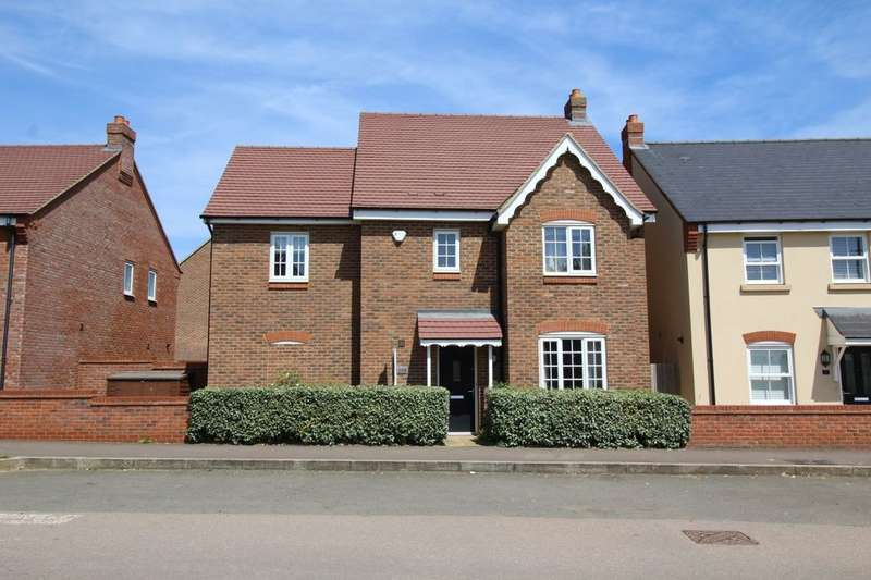 4 Bedrooms Detached House for sale in Wilkinson Road, Kempston, Bedford, MK42