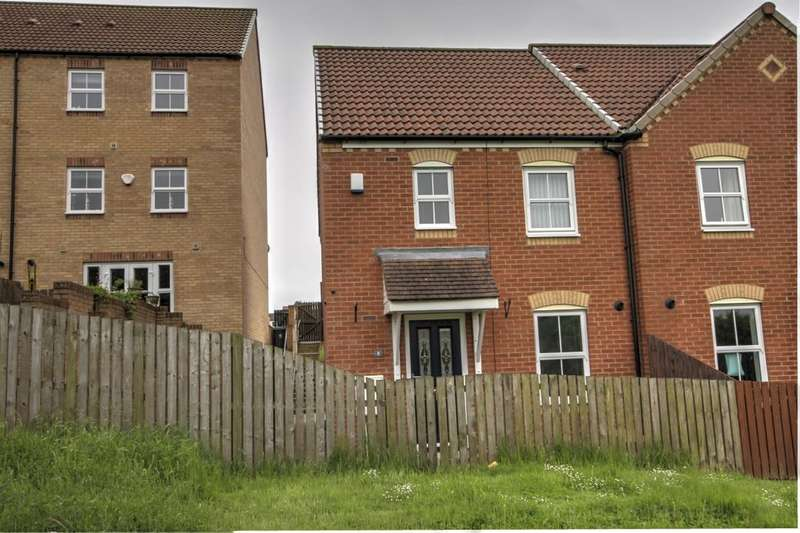 3 Bedrooms Semi Detached House for sale in Sunset View, Dipton, Stanley, DH9