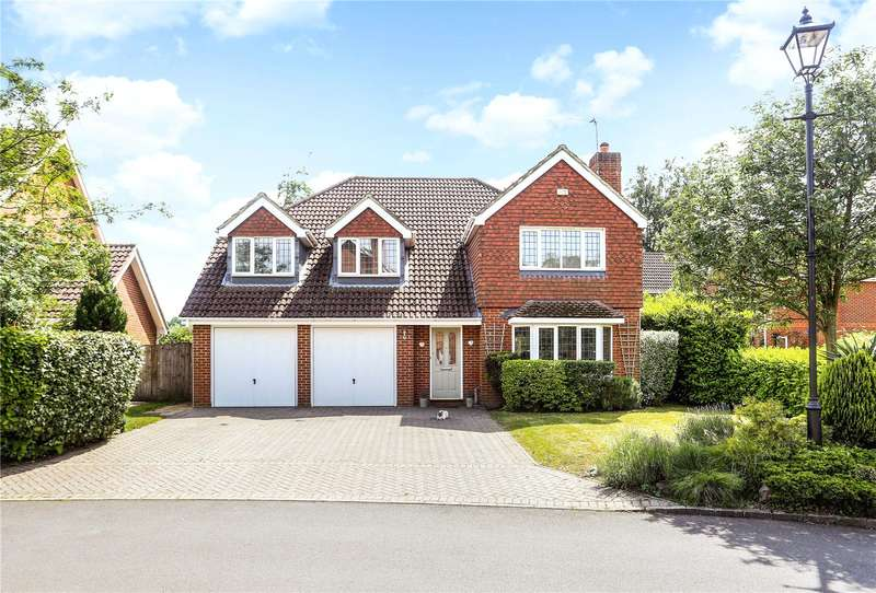5 Bedrooms Detached House for sale in Danesfield, Ripley, Woking, Surrey, GU23