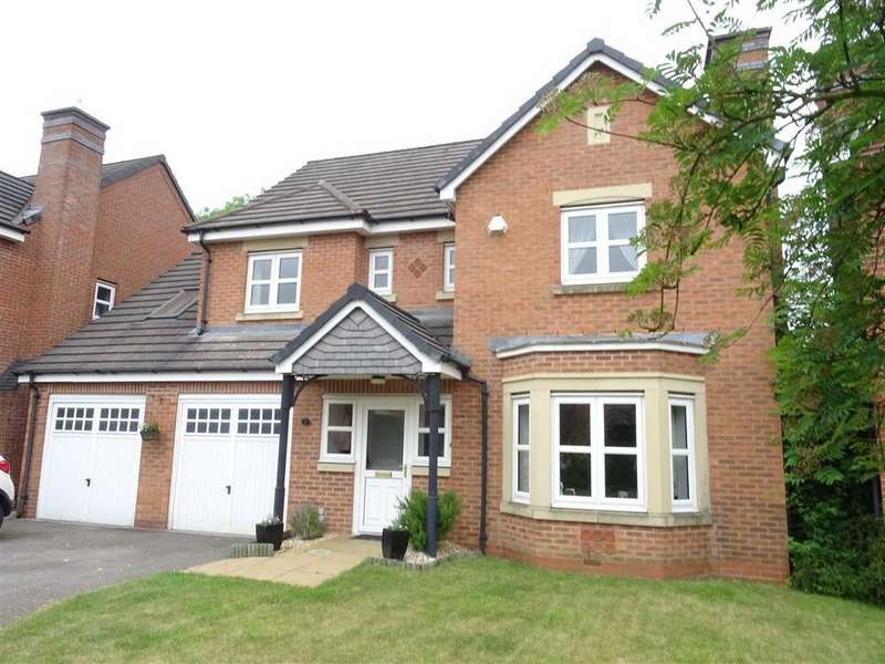4 Bedrooms Detached House for sale in Valiant Close, Burbage