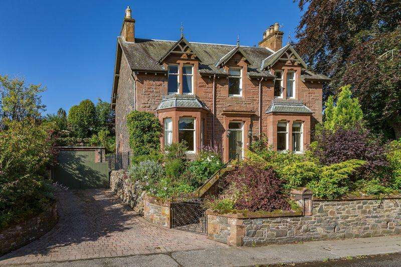 5 Bedrooms Detached House for sale in Braeholm, Windyknowe Road, Galashiels