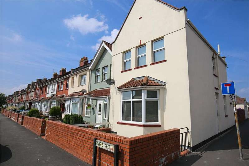 3 Bedrooms End Of Terrace House for sale in Davis Street, Bristol, BS11