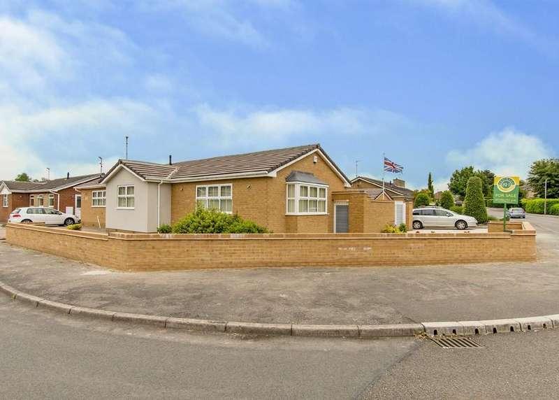 2 Bedrooms Detached Bungalow for sale in Alderson Close, Tickhill