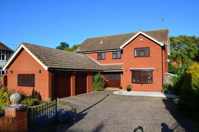 5 Bedrooms Detached House for sale in Thornley Road, Felixstowe