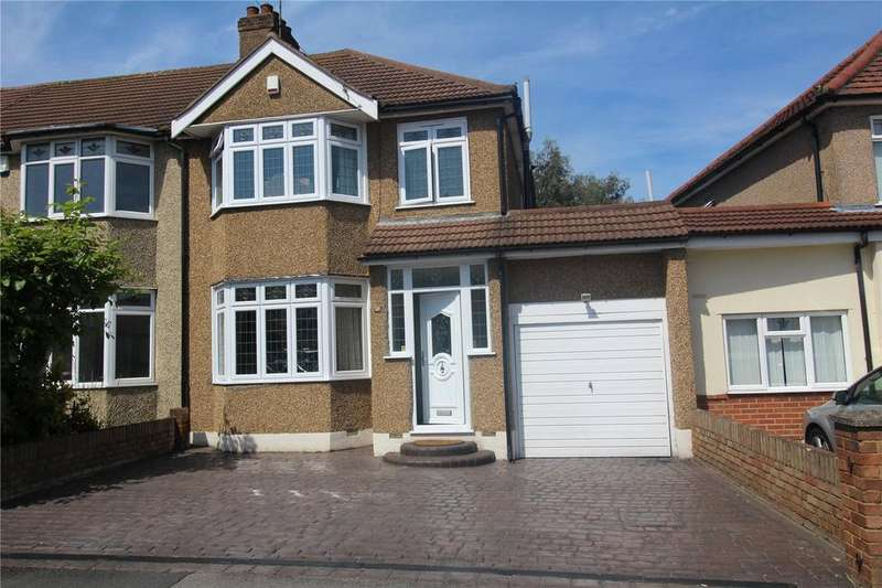 3 Bedrooms End Of Terrace House for sale in Hornford Way, Romford, RM7