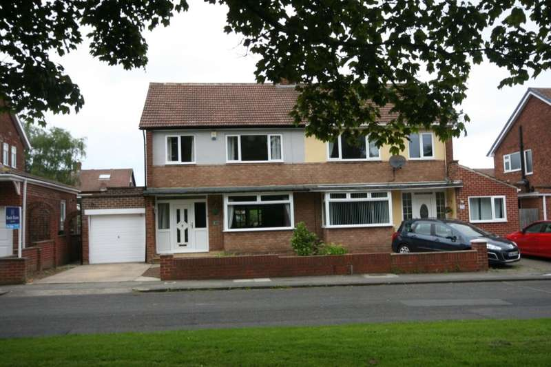 3 Bedrooms Semi Detached House for sale in Marrick Road, Stockton-On-Tees, TS18