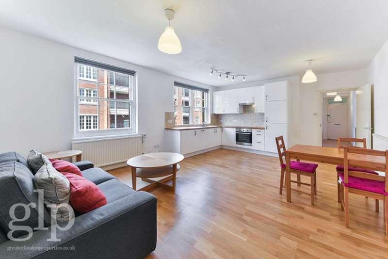 1 Bedroom Flat for sale in Tonbridge Street, Bloomsbury, WC1H