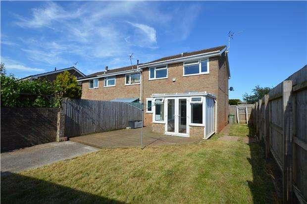 3 Bedrooms End Of Terrace House for sale in Kingscote, Yate, BRISTOL, BS37 8YE