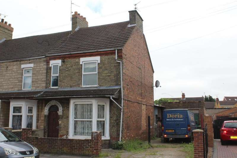 3 Bedrooms End Of Terrace House for sale in Windmill Street, Peterborough