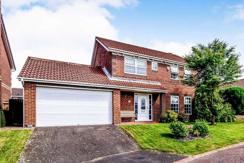 4 Bedrooms Detached House for sale in Ashford Grove, Abbey Grange, Newcastle Upon Tyne, NE5