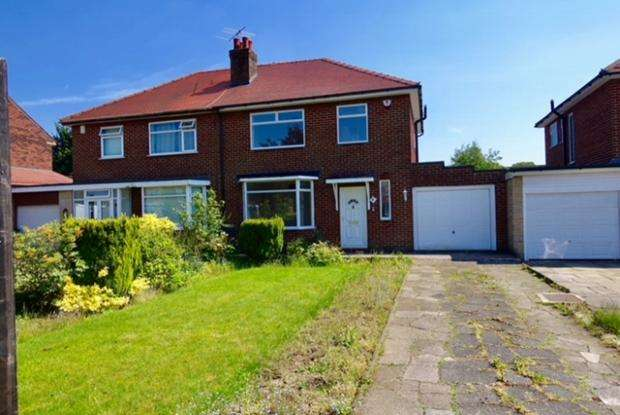 3 Bedrooms Semi Detached House for sale in Chester Avenue Chorley