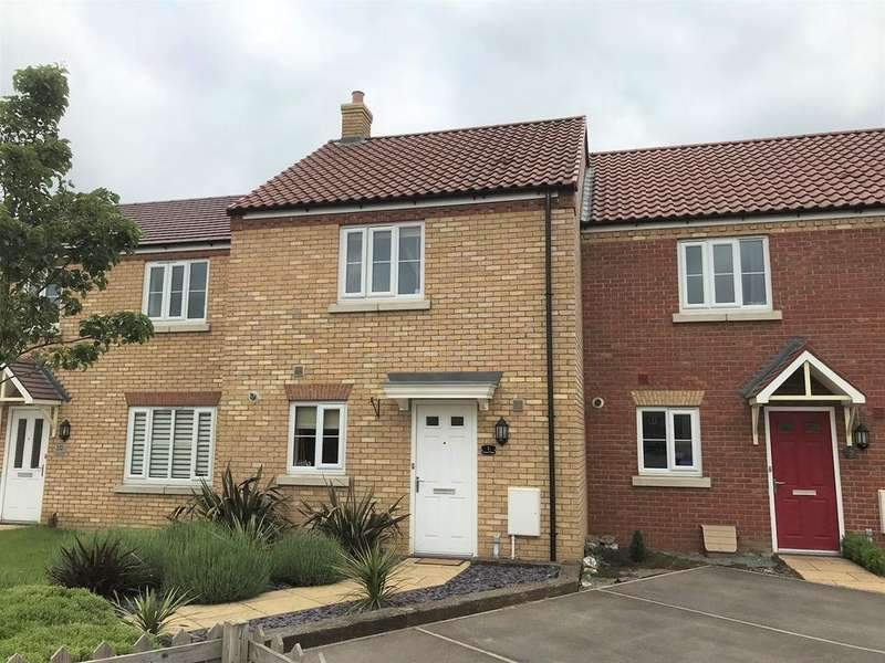 2 Bedrooms Terraced House for sale in Tweed Close, Spalding, PE11