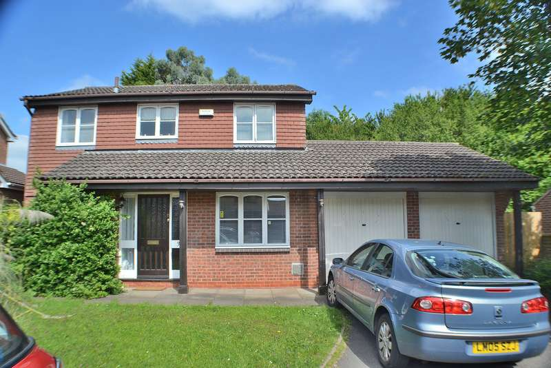4 Bedrooms Detached House for sale in Maltby Close, Allestree DE22