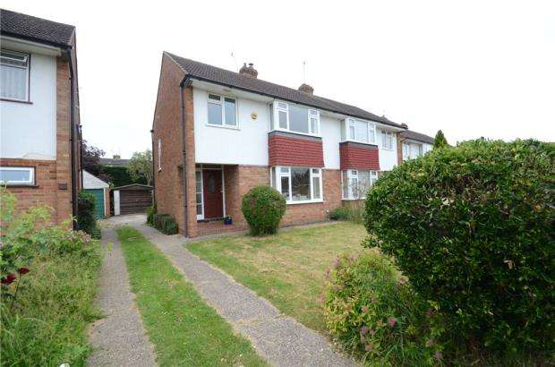 3 Bedrooms Semi Detached House for sale in Pearce Road, Maidenhead, Berkshire