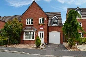 4 Bedrooms Detached House for sale in Chatsworth Fold, Ince, Wigan, WN3 4LT