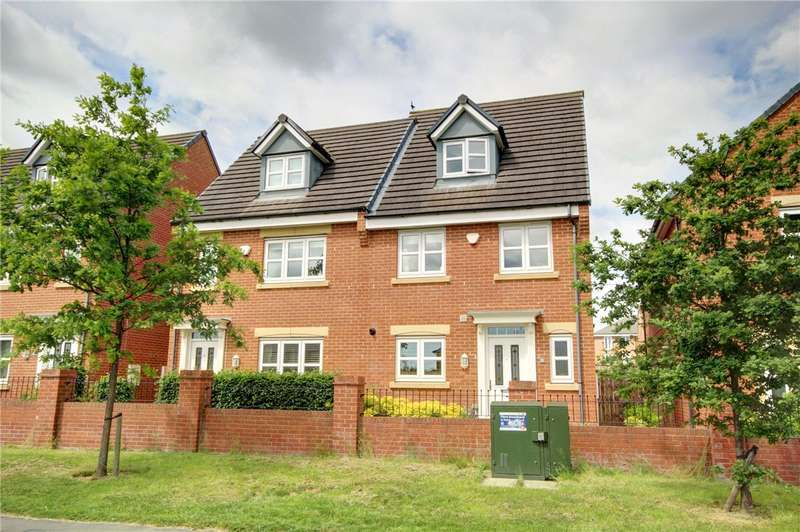 4 Bedrooms Semi Detached House for sale in Hutton Way, Framwellgate Moor, Durham, DH1