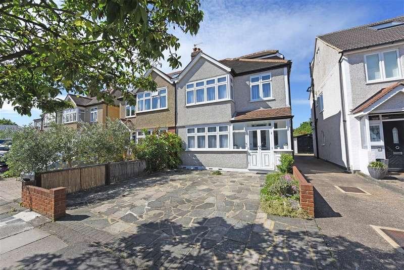 4 Bedrooms Semi Detached House for sale in Cranleigh Road, Merton Park