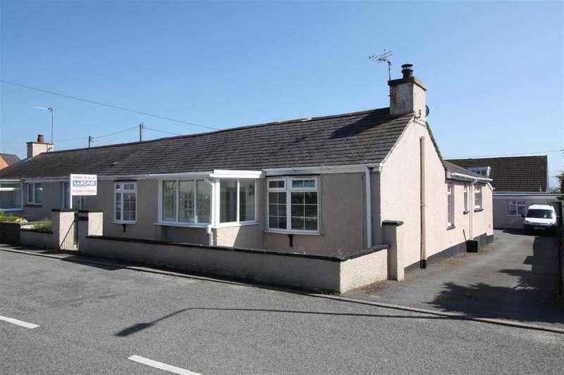 3 Bedrooms Semi Detached House for sale in Trem Eryri, Lon Ganol, Llandegfan