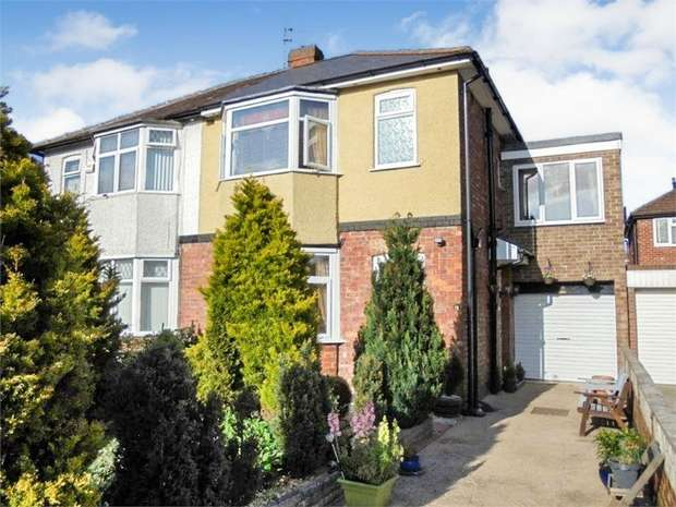 3 Bedrooms Semi Detached House for sale in Lynton Gardens, Darlington, Durham