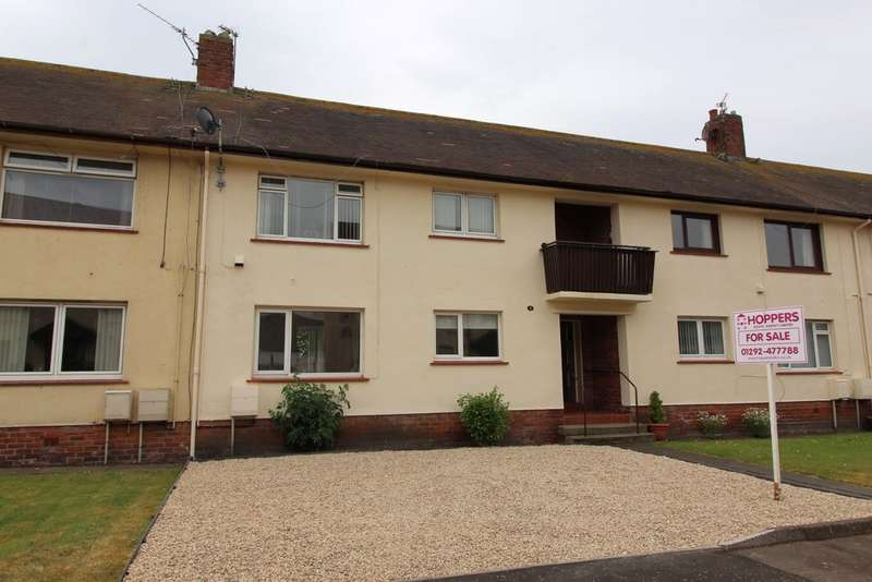 1 Bedroom Ground Flat for sale in Maryfield Place, Ayr, KA8