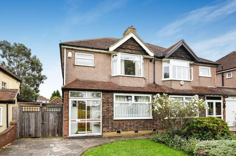 3 Bedrooms Semi Detached House for sale in Court Farm Road, London