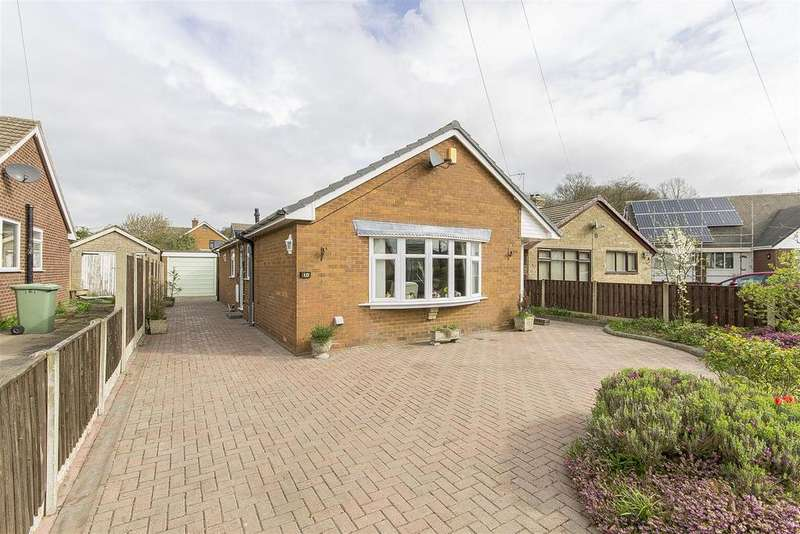 2 Bedrooms Detached Bungalow for sale in Riber Crescent, Old Tupton, Chesterfield