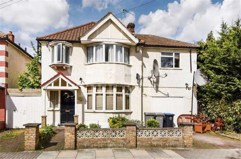 4 Bedrooms Detached House for sale in Sherrick Green Road, Dollis Hill, London, NW10