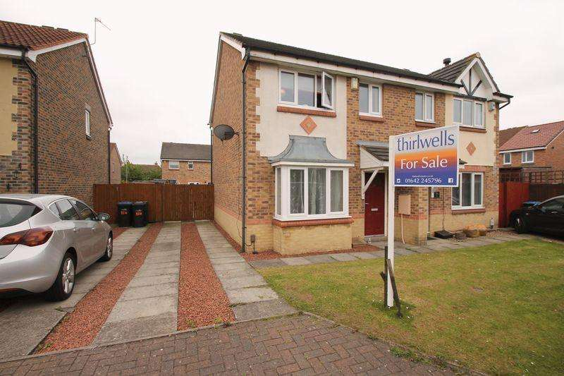 3 Bedrooms Semi Detached House for sale in Tomlinson Way, Middlesbrough