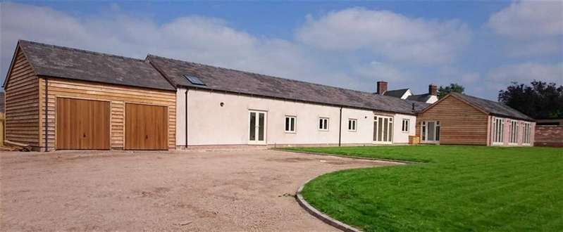 5 Bedrooms Barn Conversion Character Property for sale in Newton- On-The-Hill, Harmer Hill, Shrewsbury