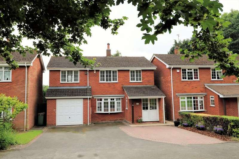 4 Bedrooms Detached House for sale in Hall Close, Blackfordby
