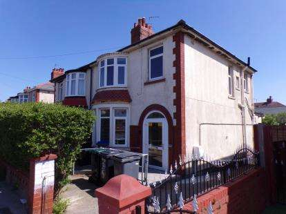 3 Bedrooms Semi Detached House for sale in Westfield Road, Blackpool, Lancashire, FY1