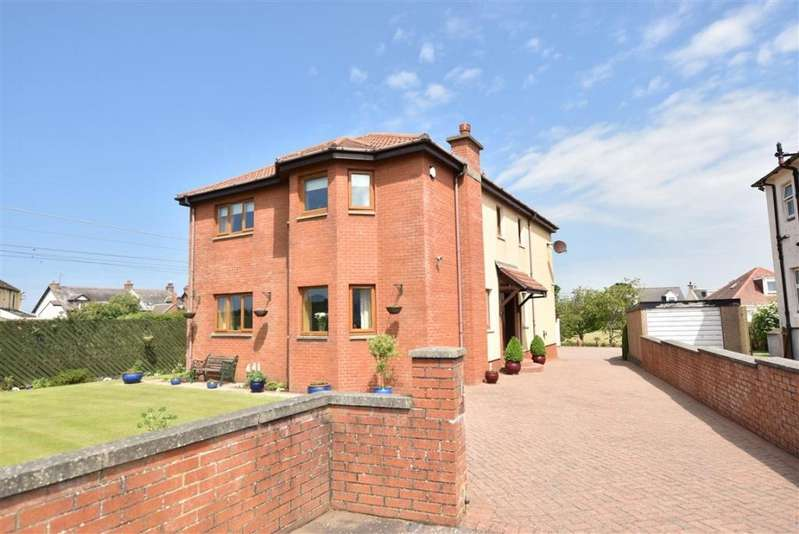 4 Bedrooms Detached Villa House for sale in 26 Kingscroft Road, Prestwick, KA9 1SA