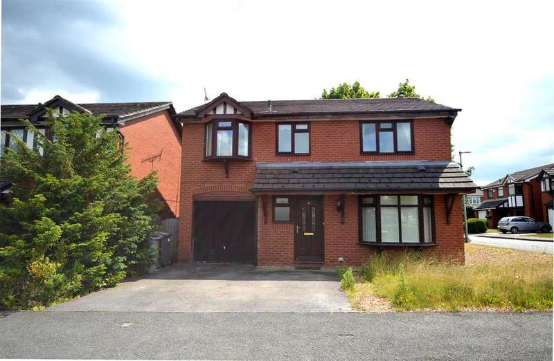 4 Bedrooms Detached House for sale in Blakemere Way, Sandbach