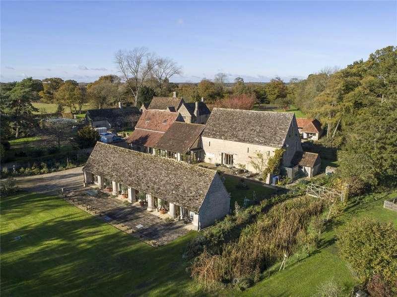 5 Bedrooms Detached House for sale in Cloatley Road, Hankerton, Malmesbury, Wiltshire