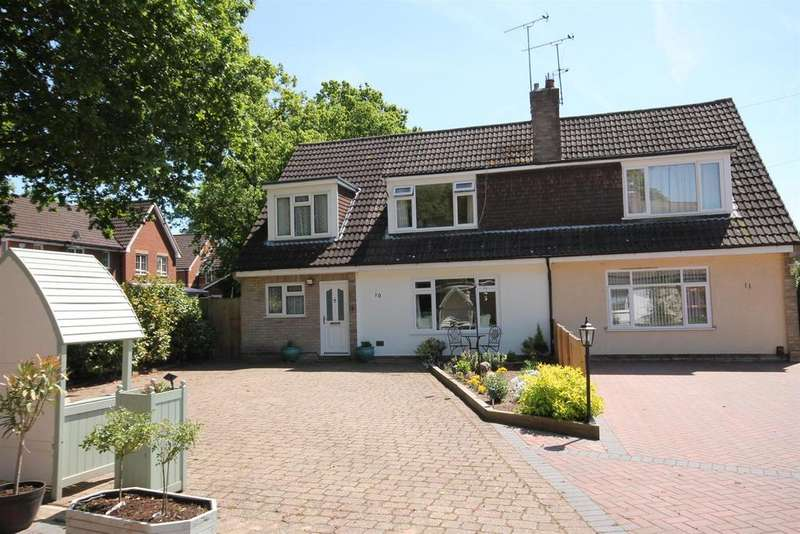 4 Bedrooms Semi Detached House for sale in Pinewood Crescent, Farnborough