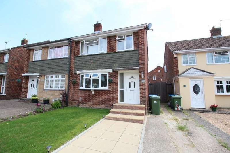 3 Bedrooms Semi Detached House for sale in Dyserth Close, Sholing SO19