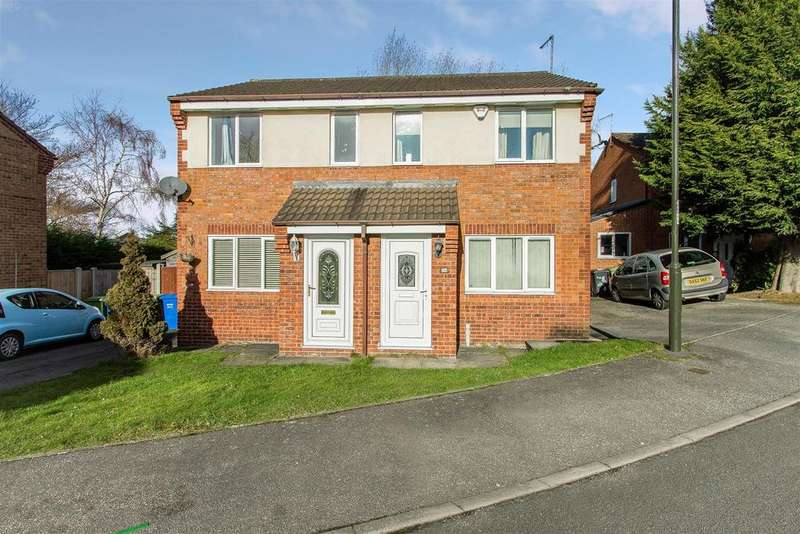 2 Bedrooms Semi Detached House for sale in Farnon Close, Chesterfield