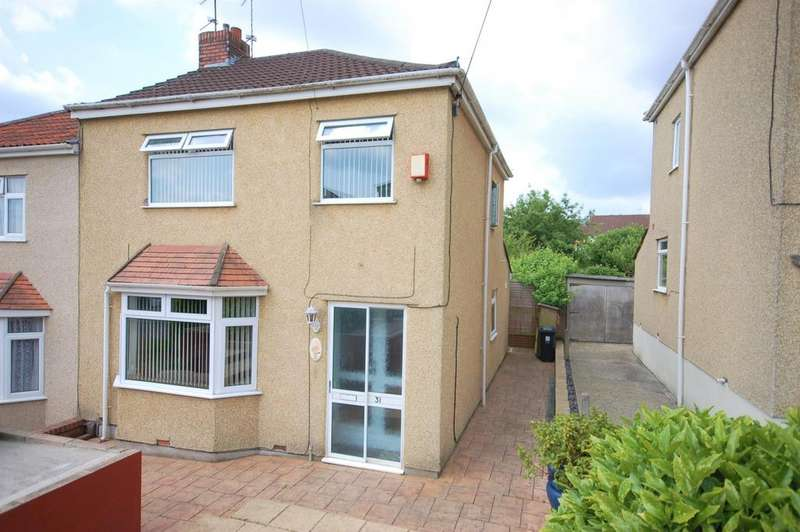 3 Bedrooms Semi Detached House for sale in Neville Road, Kingswood, Bristol, BS15 1XX