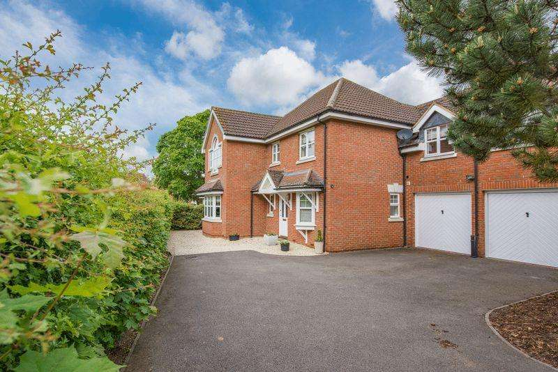 5 Bedrooms Detached House for sale in Jefferies Road, Stone