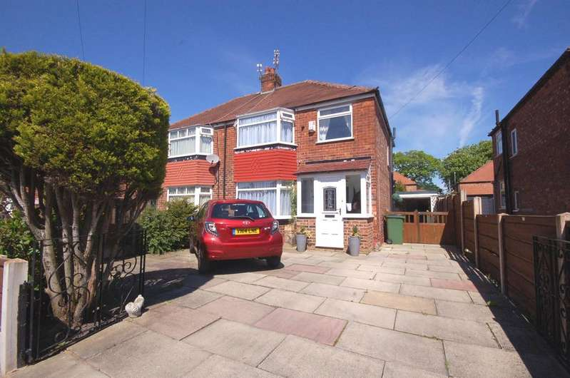 3 Bedrooms Semi Detached House for sale in Peacock Drive, Heald Green, Cheadle, Cheshire SK8