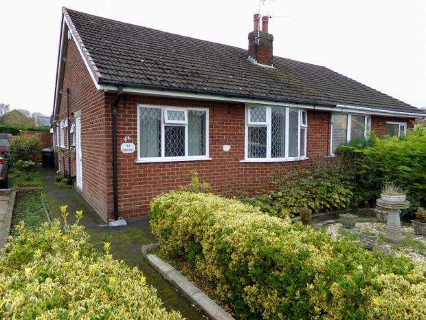 2 Bedrooms Semi Detached Bungalow for sale in Milbanke Avenue Kirkham Preston