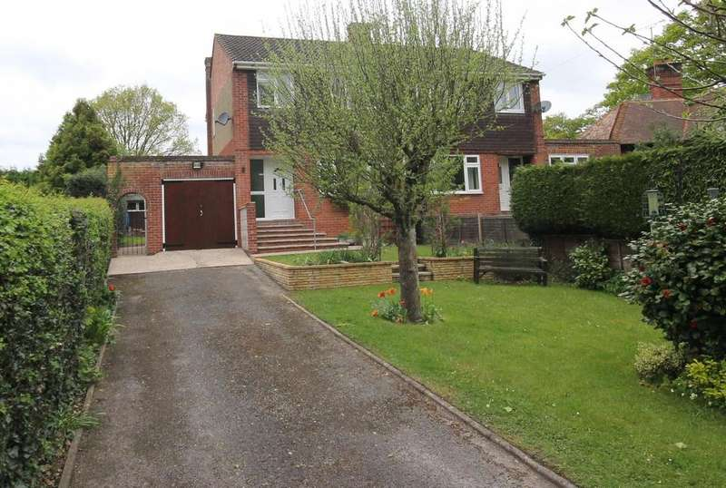 3 Bedrooms Semi Detached House for sale in Kingsley Road, Eversley
