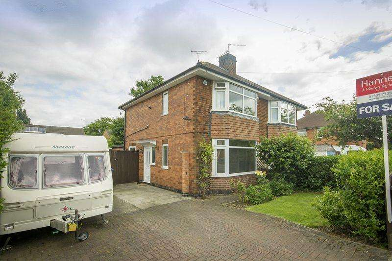 2 Bedrooms Semi Detached House for sale in KENDON AVENUE, SUNNYHILL
