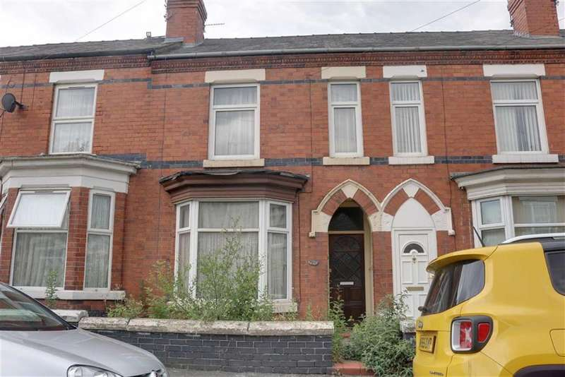3 Bedrooms Terraced House for sale in Brooklyn Street, Crewe