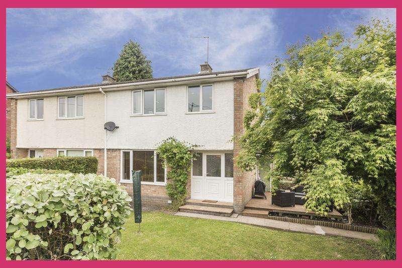 3 Bedrooms Semi Detached House for sale in Brynhyfryd Close, Pontypool - REF # 00004525