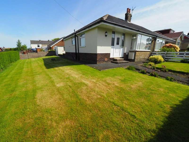 2 Bedrooms Semi Detached Bungalow for sale in Thirlmere Drive, Darwen
