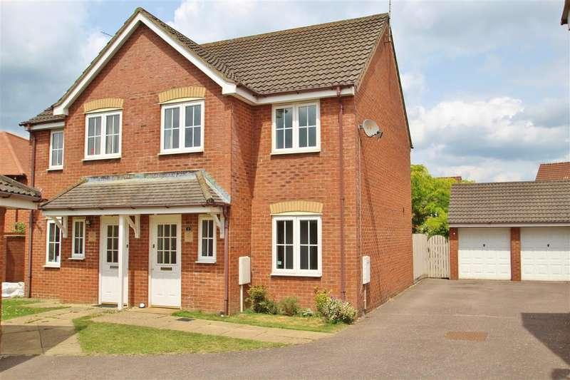 3 Bedrooms Semi Detached House for sale in Sandstone Close, Calvert Green