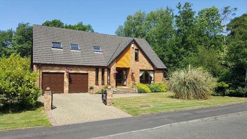 5 Bedrooms Detached House for sale in Lamberton Gardens, Perceton, Irvine, North Ayrshire, KA11 2BU
